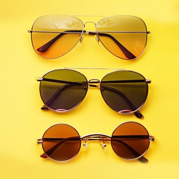 Επιλέγοντας το σωστό χρώμα φακού γυαλιών ηλίου και τι σημαίνει αυτό
